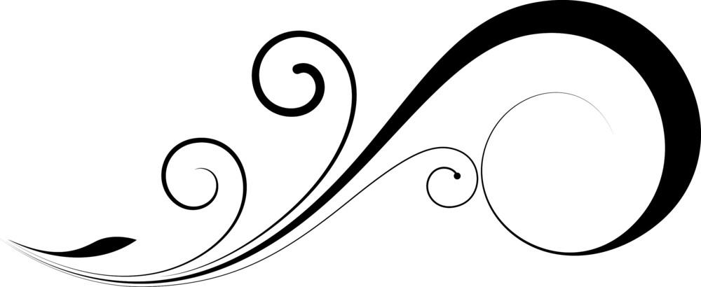 Swirl Floral Element