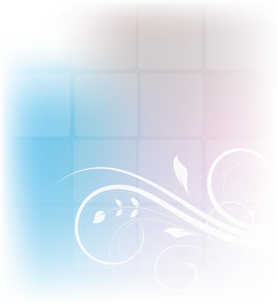 Swirl Flourish Blur Background