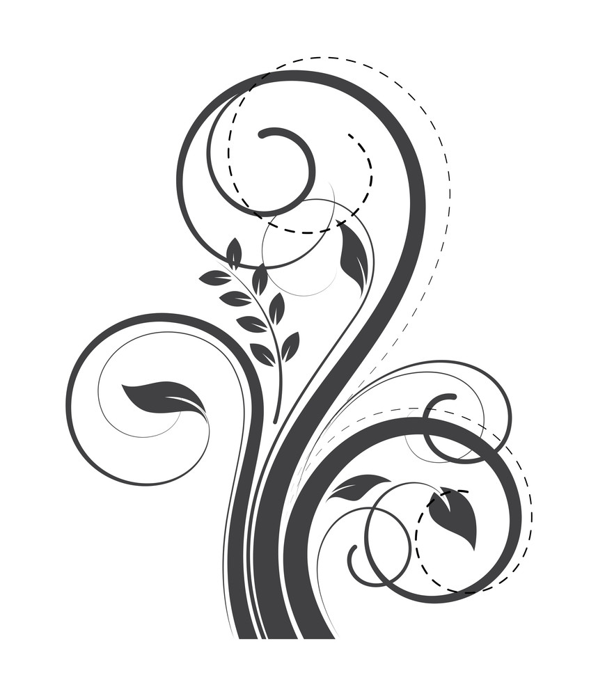 Swirl Flourish Decorative Elements