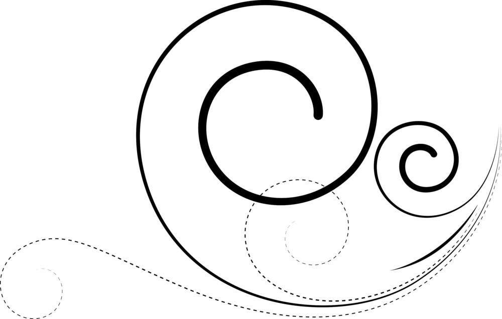 Swirl Flourish Design