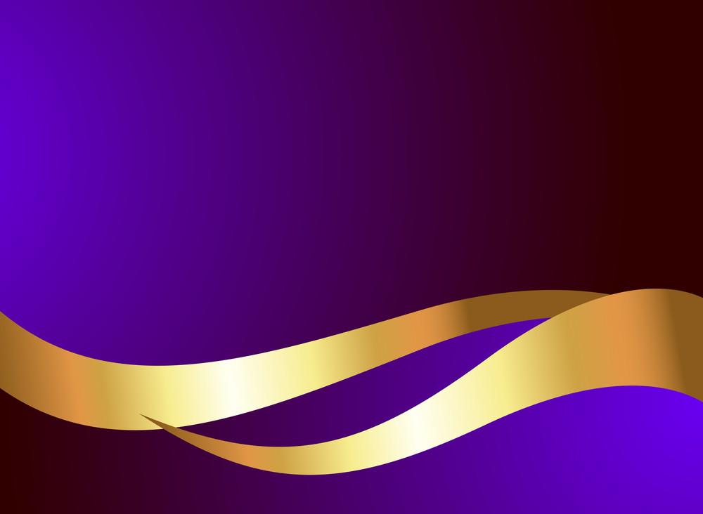 Swirl Golden Wavy Design