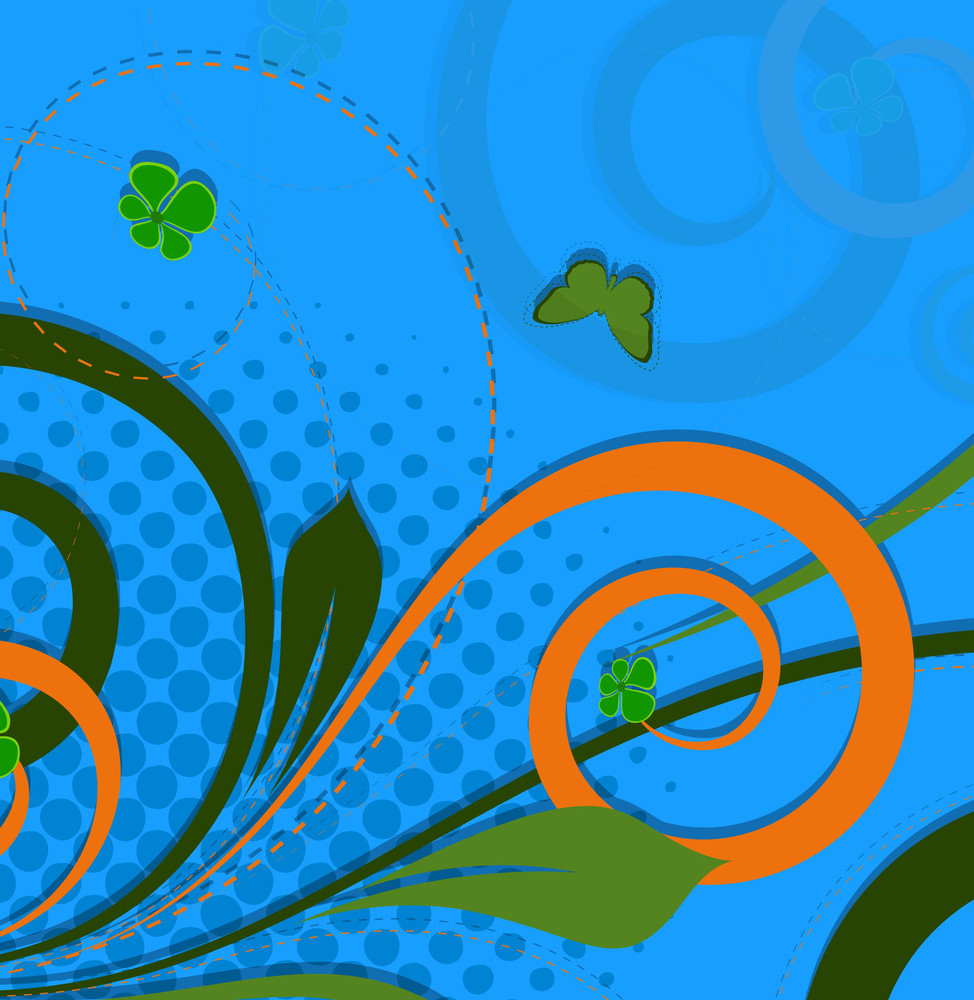 Swirl Halftone Design