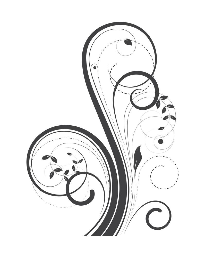Swirl Ornate Flourish Art
