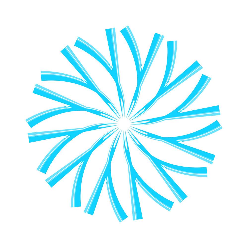 Swirl Snowflake