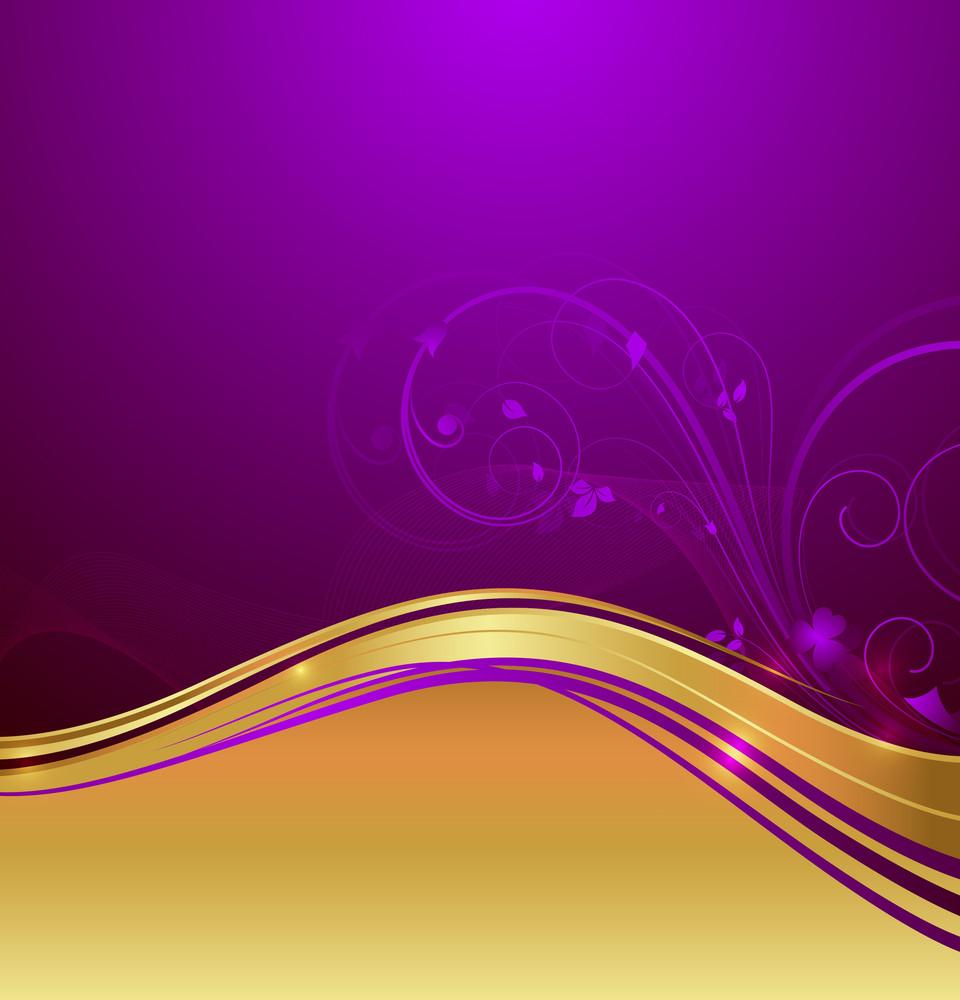 Swirl Wave Flourish Design Element