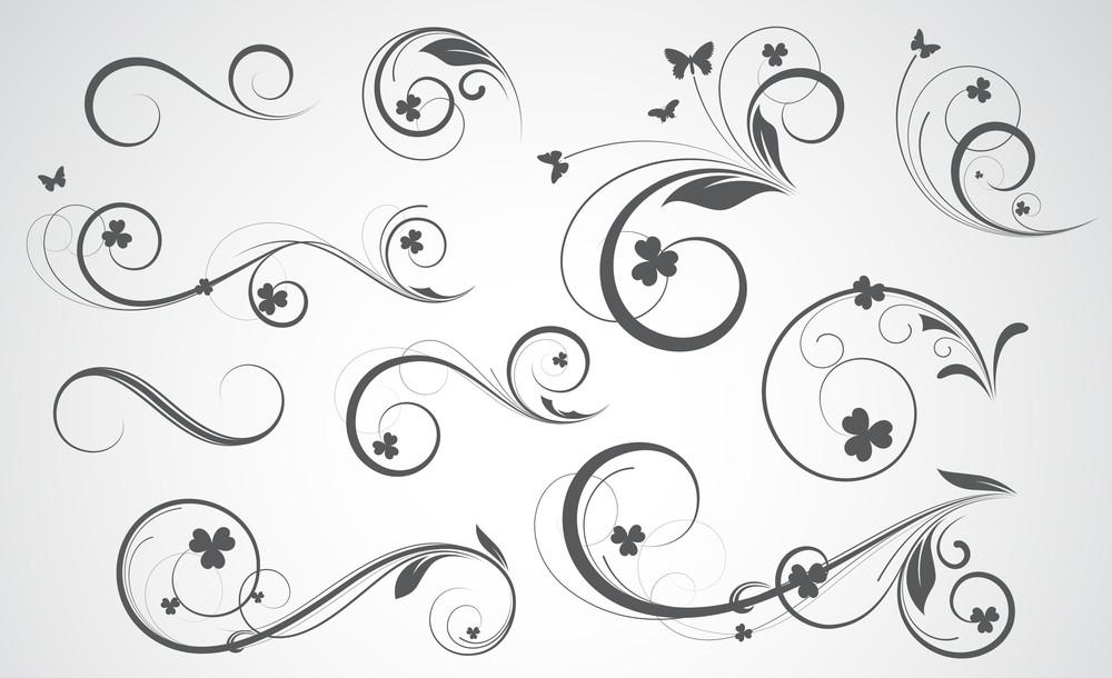 Swirly Vector Designs