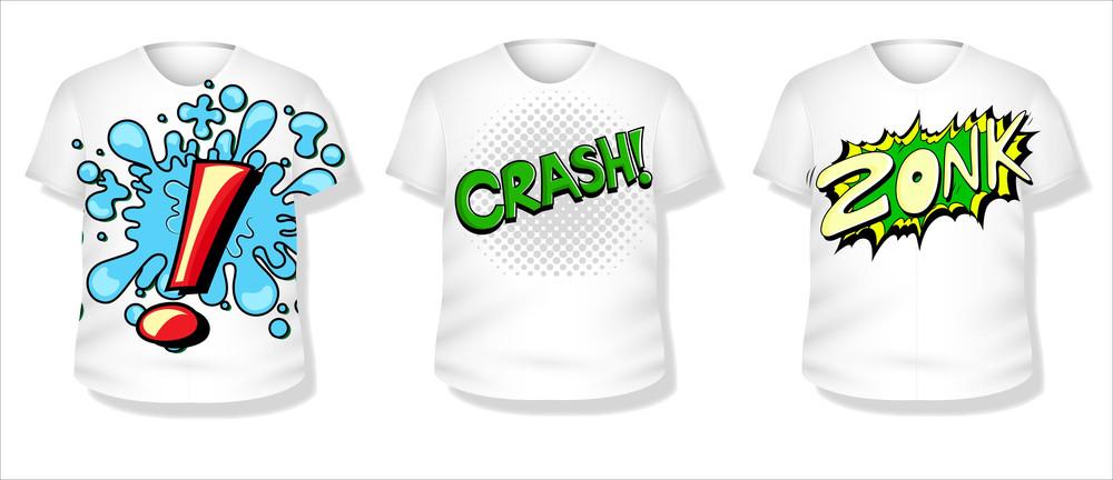 T-shirt Design Vector Set