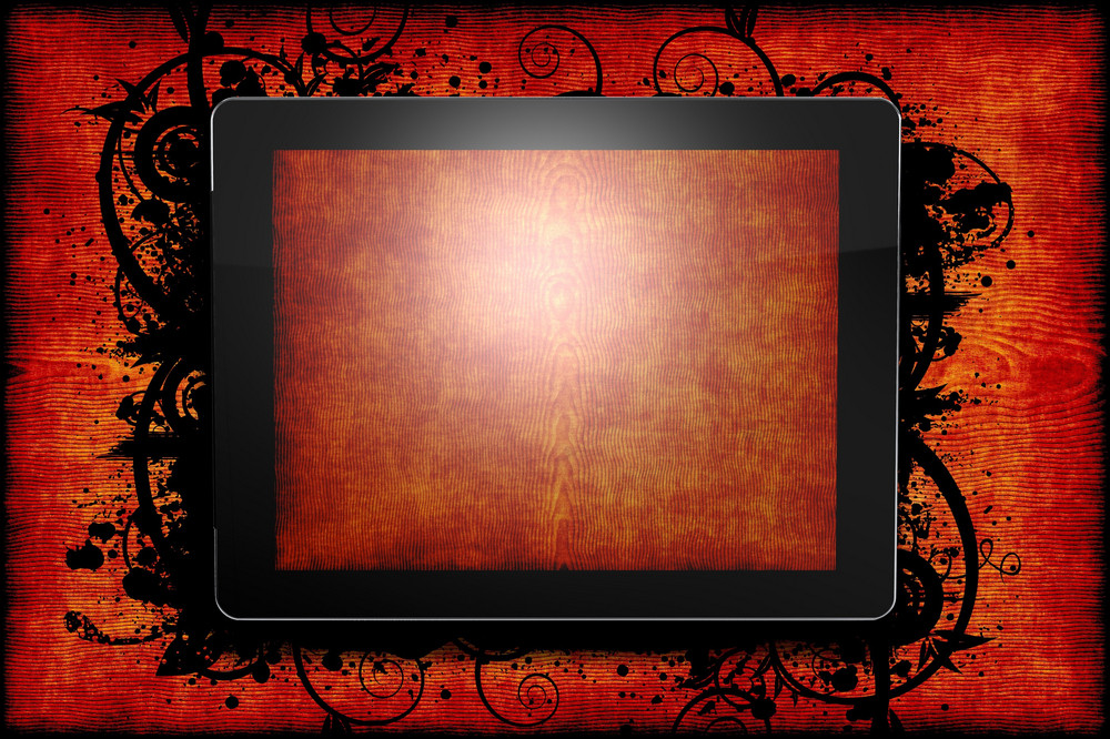 Tablet Wood Theme