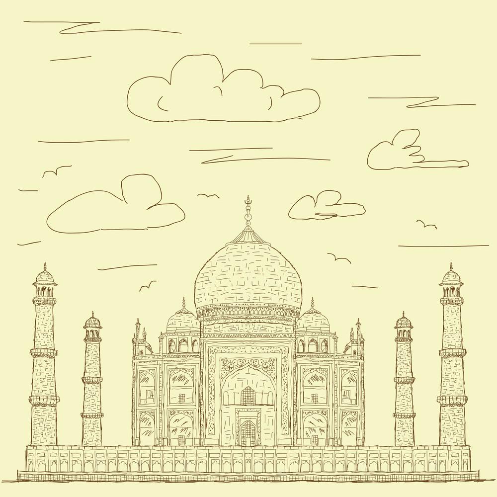 Taj Mahal Vintage