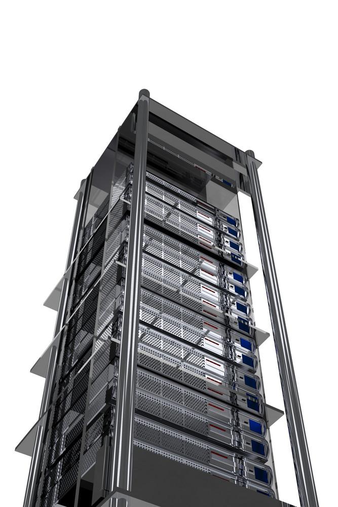 Tall Server Rack