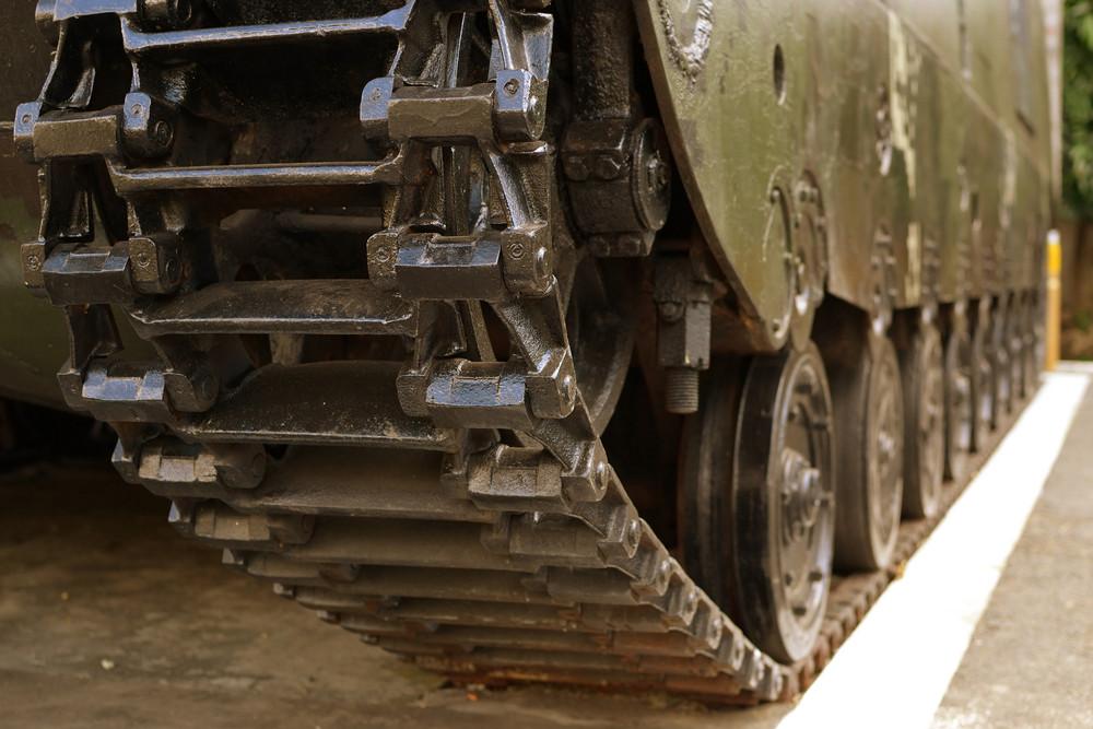 Tank Wheel Front View