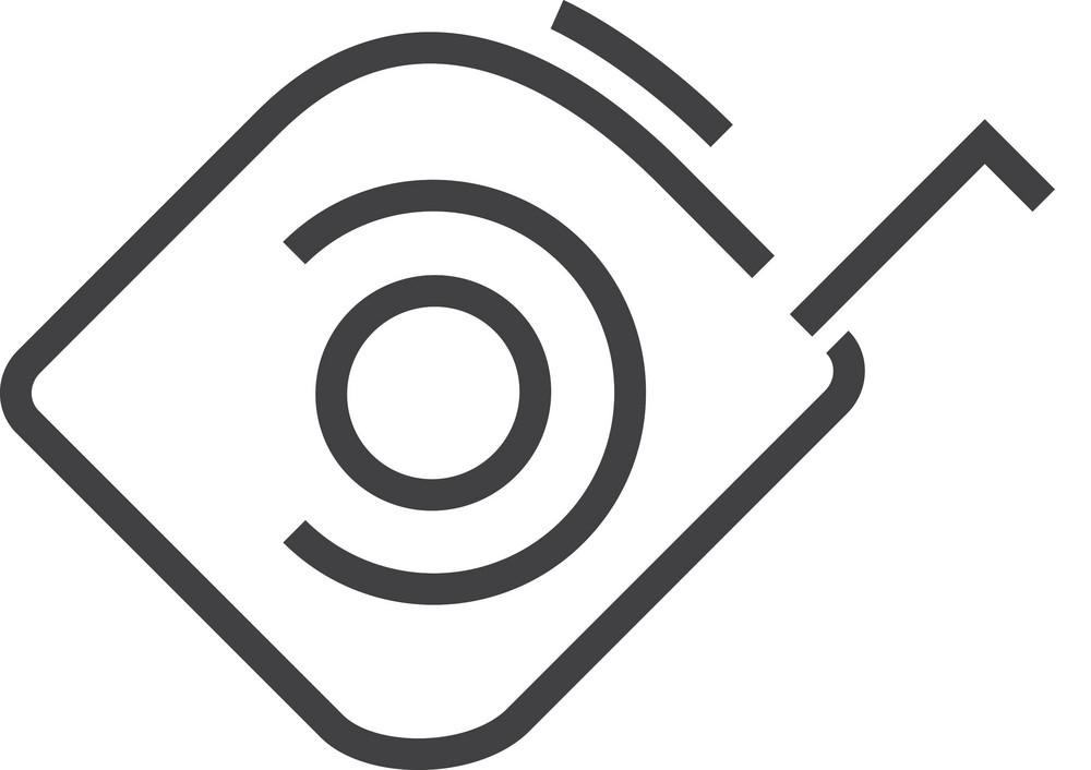 Tape Measure Minimal Icon