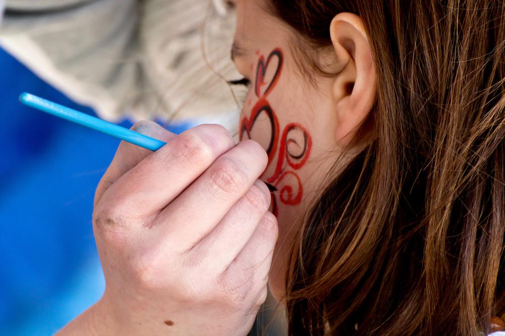 Tattoo Art On Face