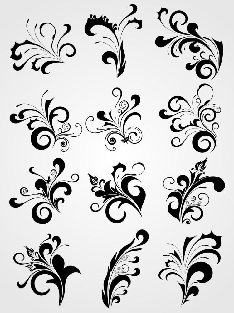 Tattoos Design Set
