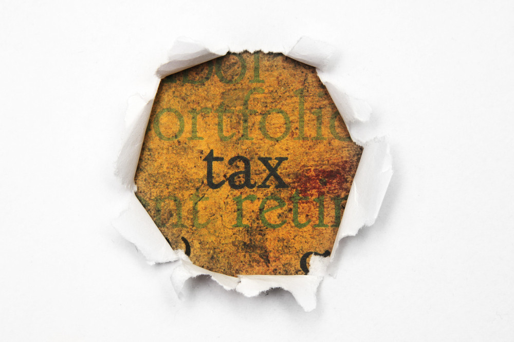 Tax Paper Hole
