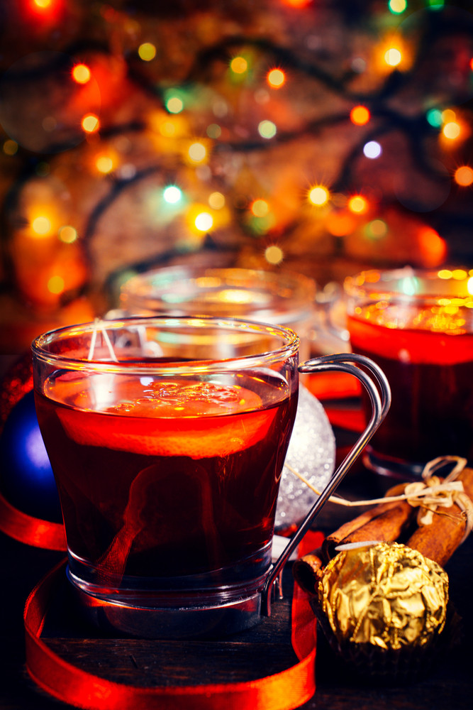 Tea In Glass Cups