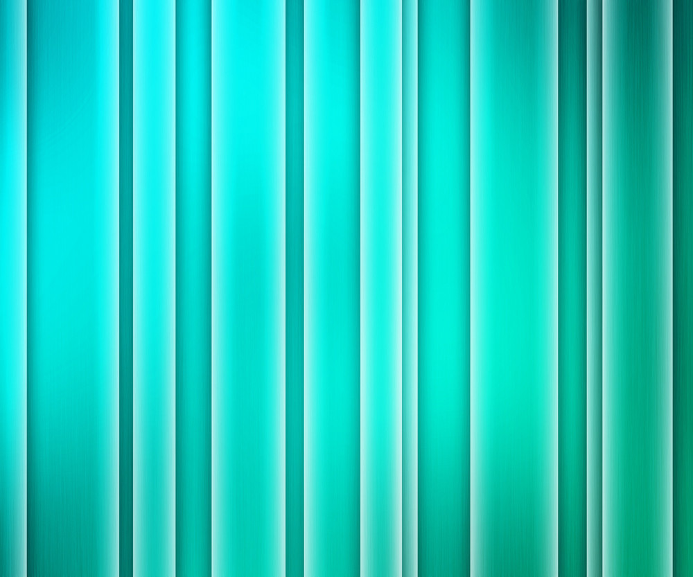 Teal Glowing Stripes Background
