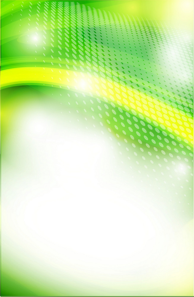 Tech Green Vector Background