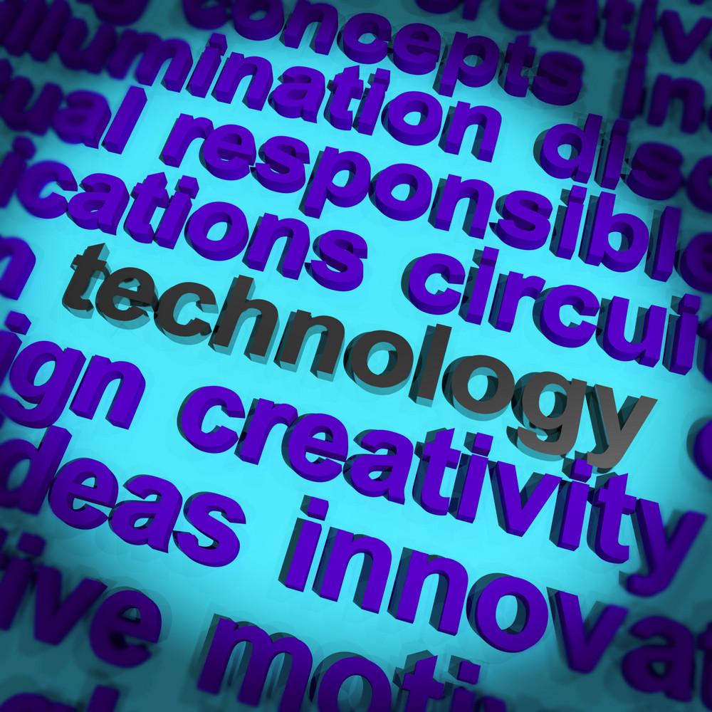 Technology Word Meaning Innovation Software Improvement And Hi Tech