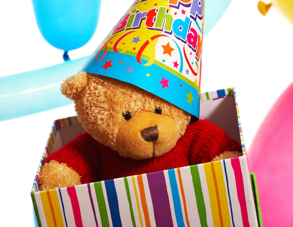 Teddy Bear Birthday Gift Or Present