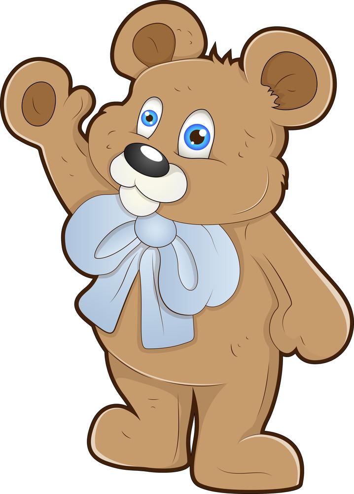 Teddy Bear - Cartoon Character