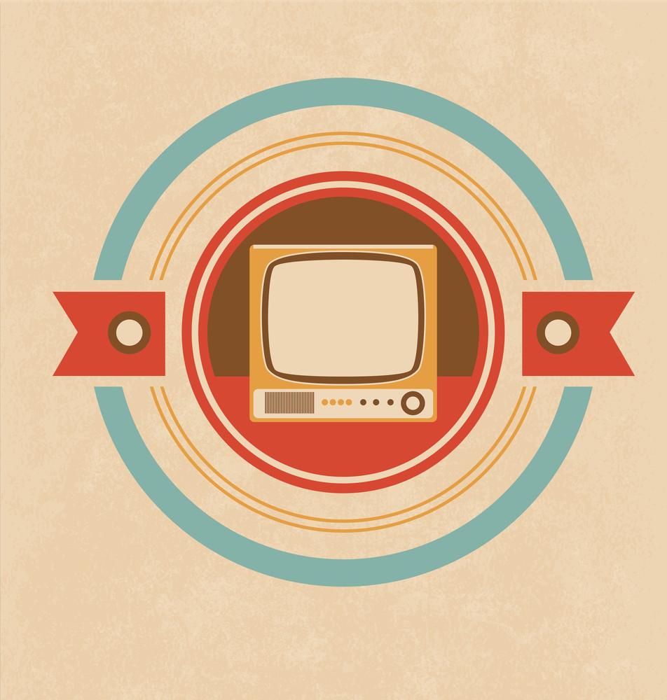 Television Icon Design