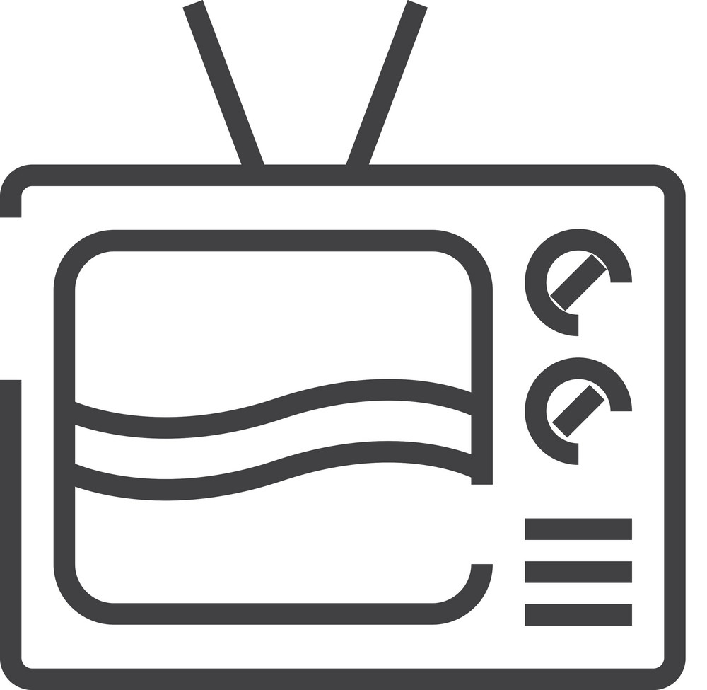 Television Minimal Icon