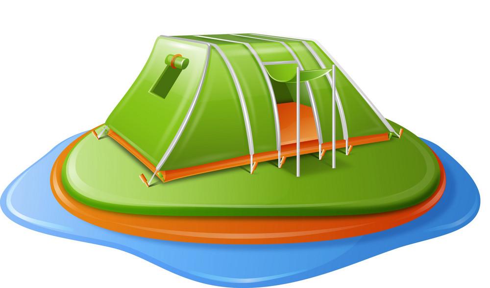 Tent Island Itravel