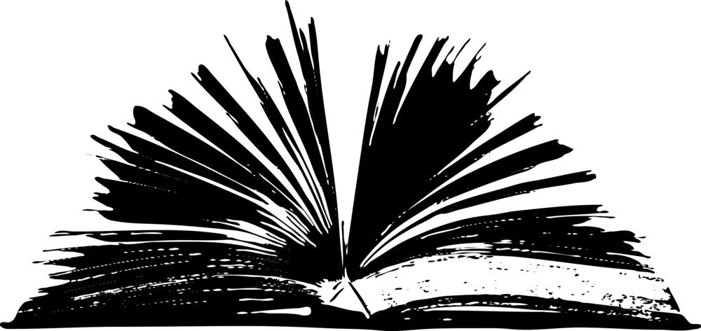 Text Banner With Book
