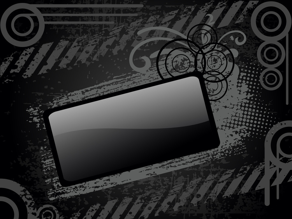 Texture Background With Decorated Frame