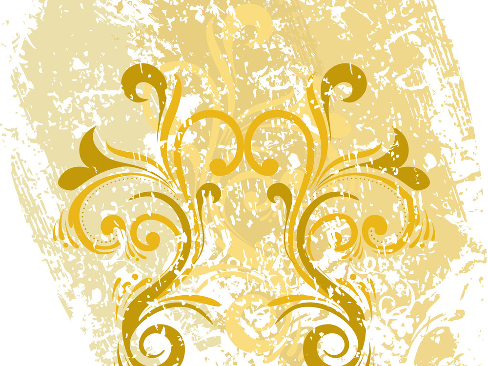 Texture Background With Filigree Pattern