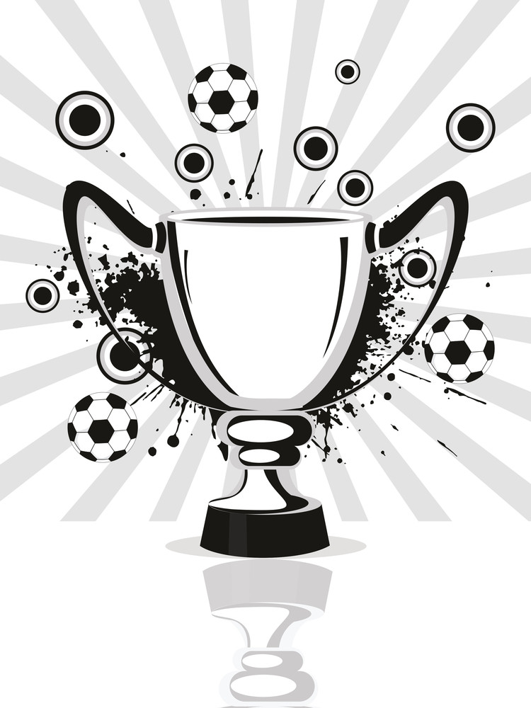 Texture Background With Trophy