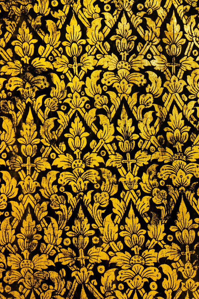 Thai Art Pattern Old Style