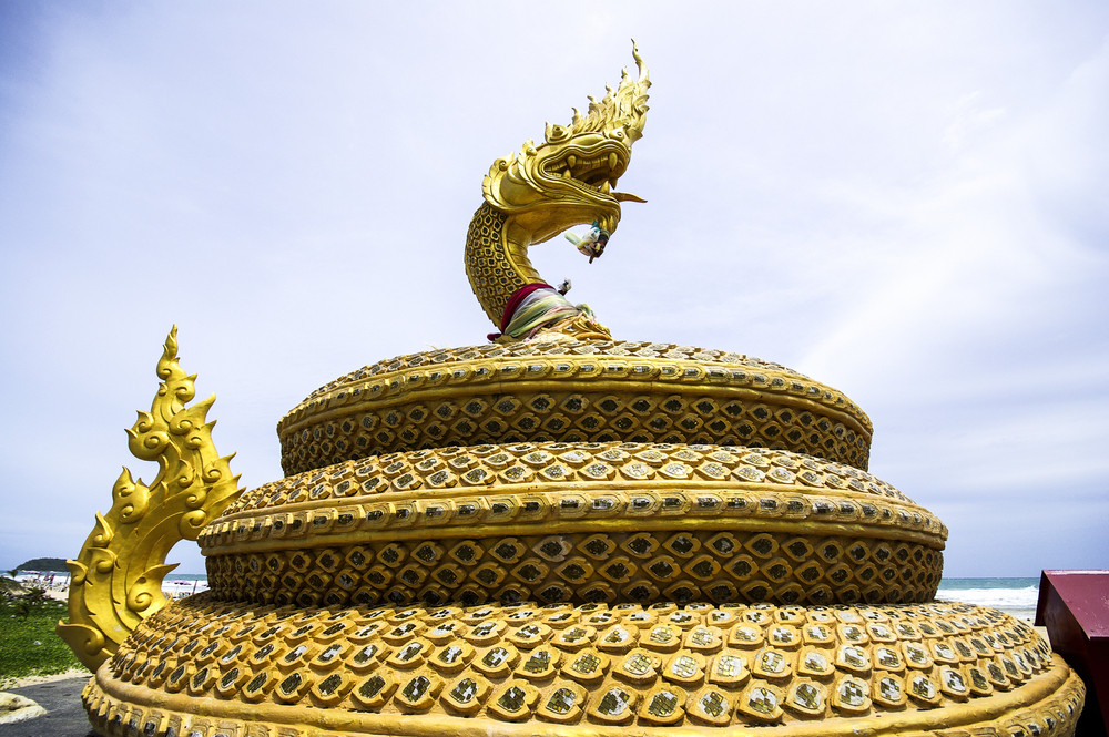 Thailand dragon at Phuket Thailand