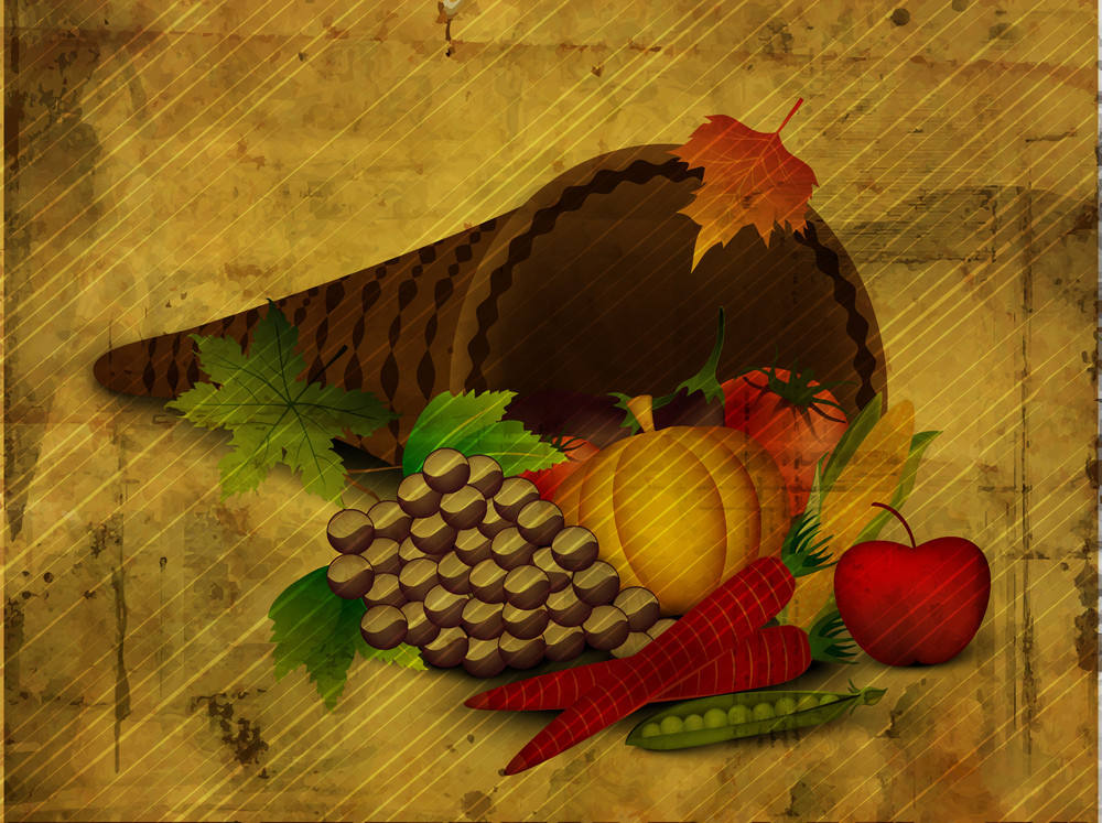 Thanksgiving Background.