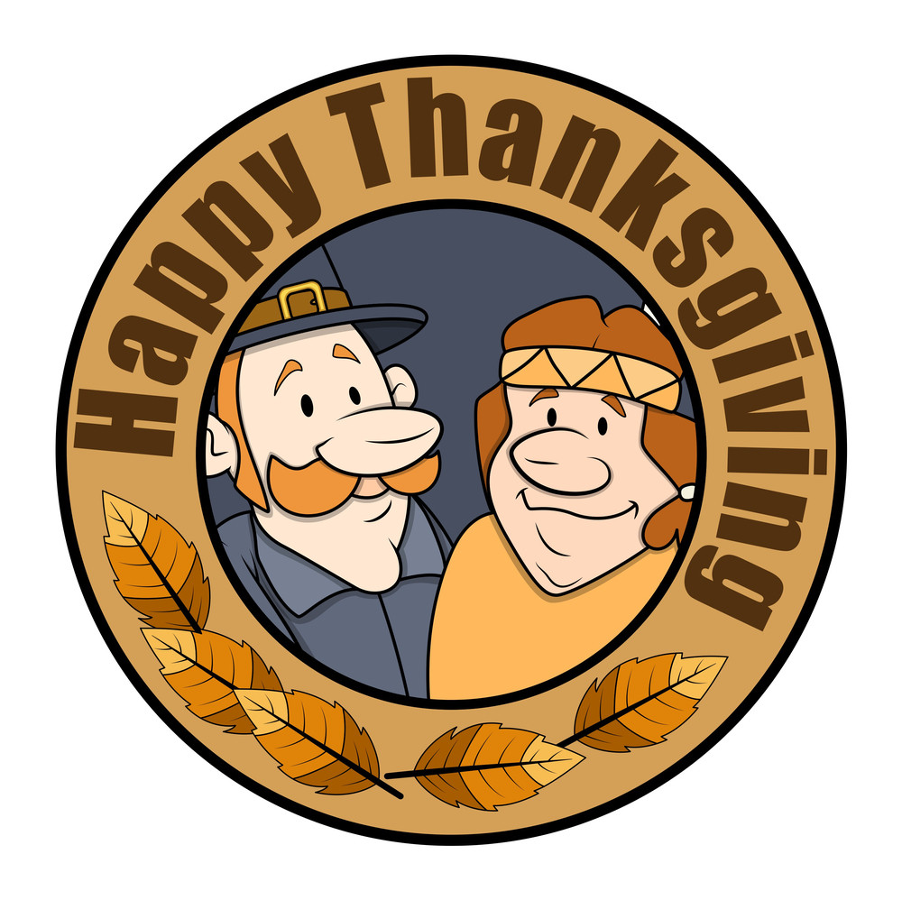 Thanksgiving Day Cartoon Characters