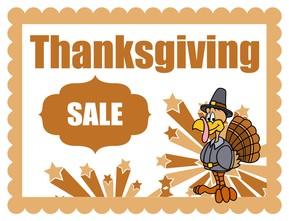 Thanksgiving Day Sale Banner