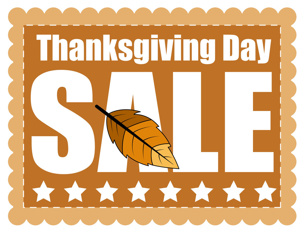 Thanksgiving Day Sale Graphic Banner