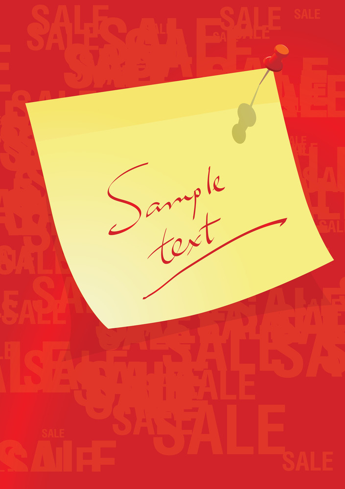 The Big Sale Vector Template.