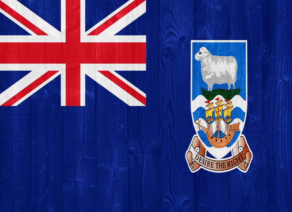 The Falkland Islands Flag