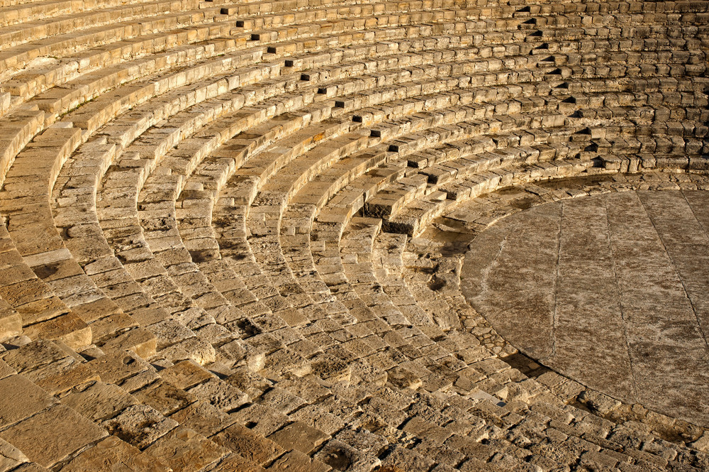 The Fragment Of Ancient Theatre Amphitheatre