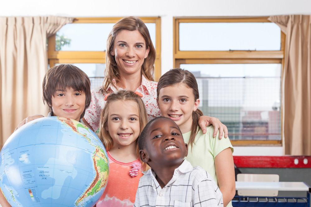 The geography class