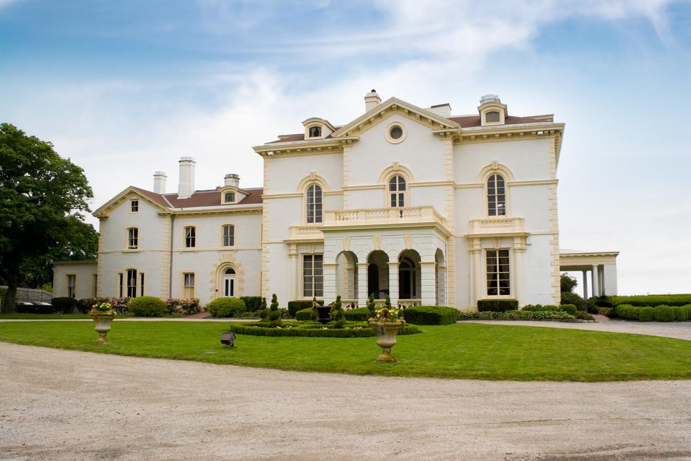 The historic Astors Beechwood mansion located in Newport Rhode Island.