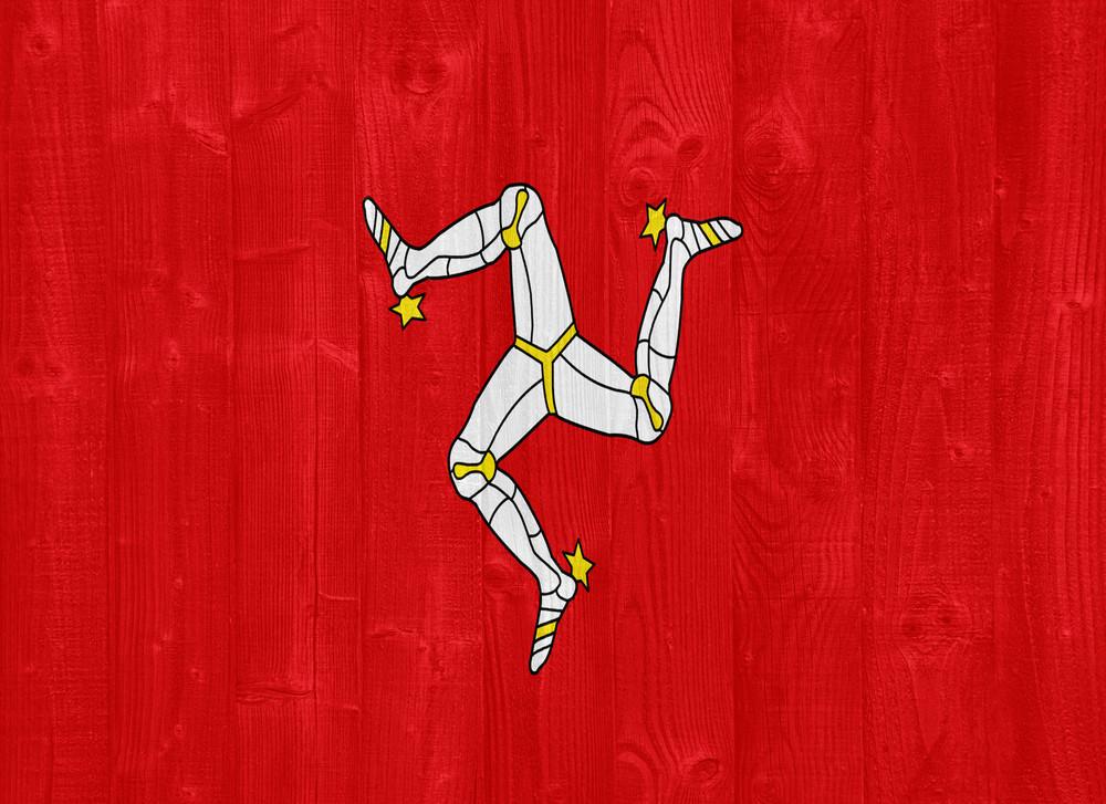 The Isle Of Man Flag