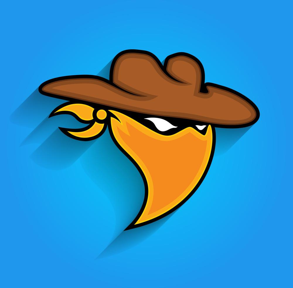 Thief Mask Vector Mascot