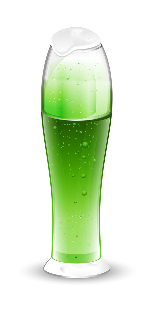 Thin Beer Glass