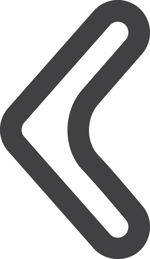Thin Left Arrow