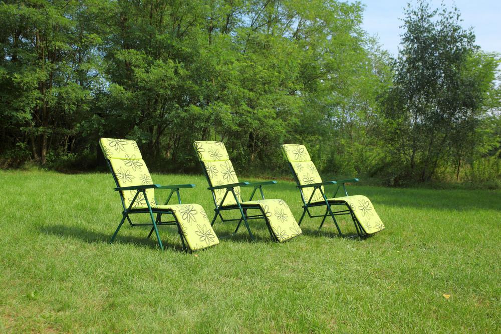 Three Deck Chairs