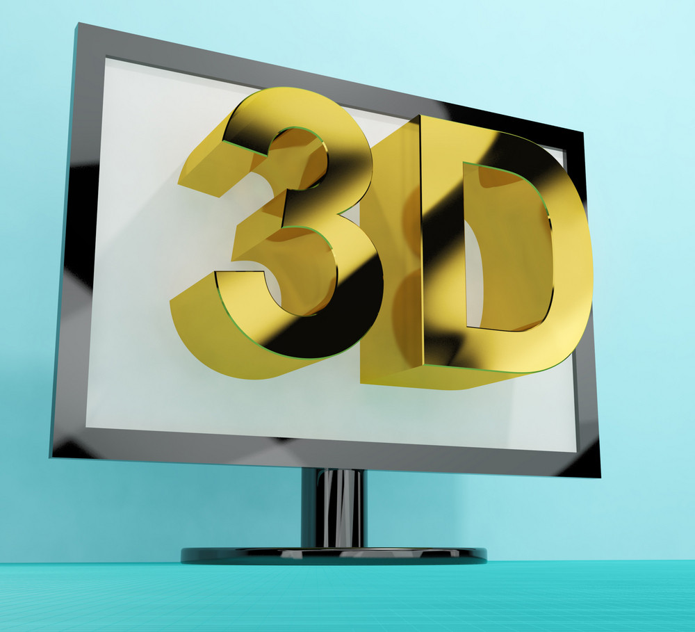 Three Dimensional Television Or 3d Hd Tvs