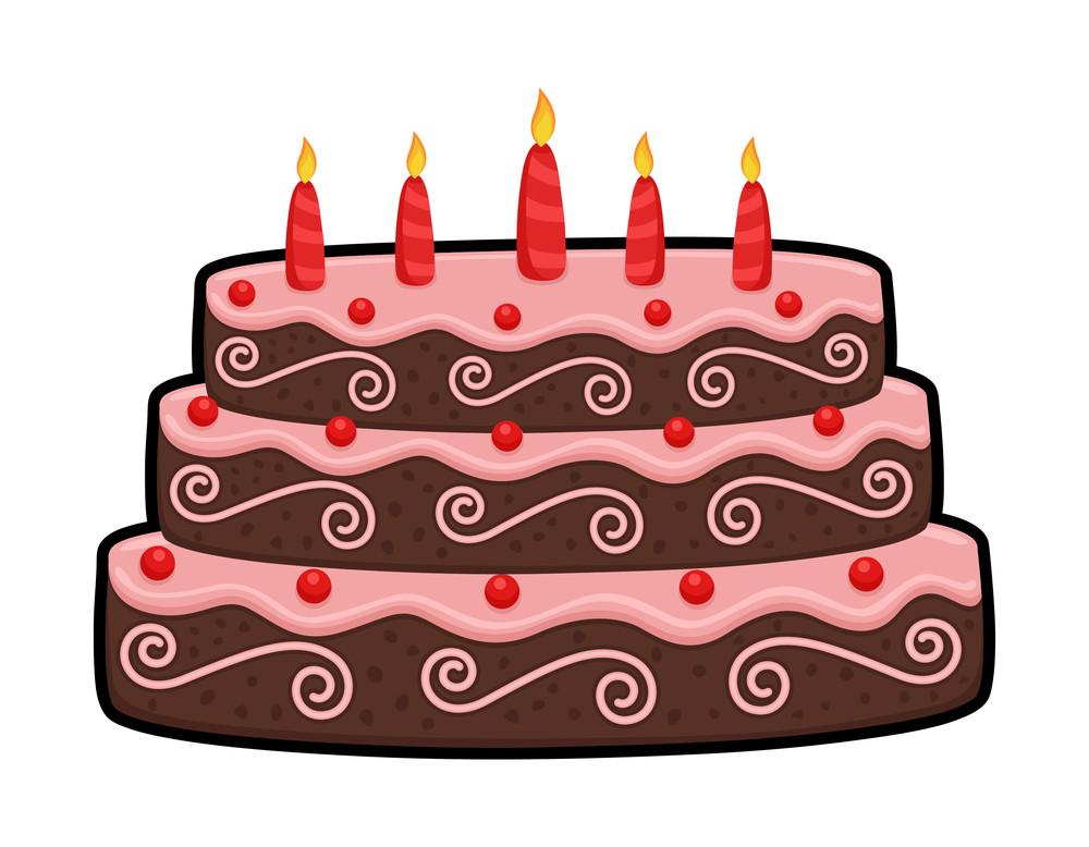 Three Layer Anniversary Cake